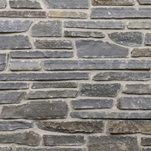 Blue Ridge Real Thin Stone Veneer Mock-Up