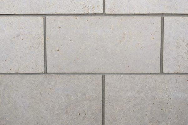 Cambridge Natural Thin Stone Veneer Mock-Up