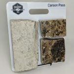 Carson Pass Natural Stone Veneer Sample Board
