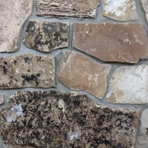 Carson Pass Real Stone Veneer Mock-Up