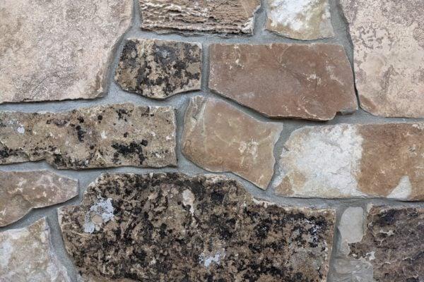 Carson Pass Real Stone Veneer Mock-Up