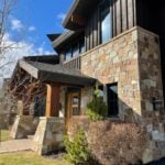 Carson Pass Real Thin Stone Veneer Home Exterior