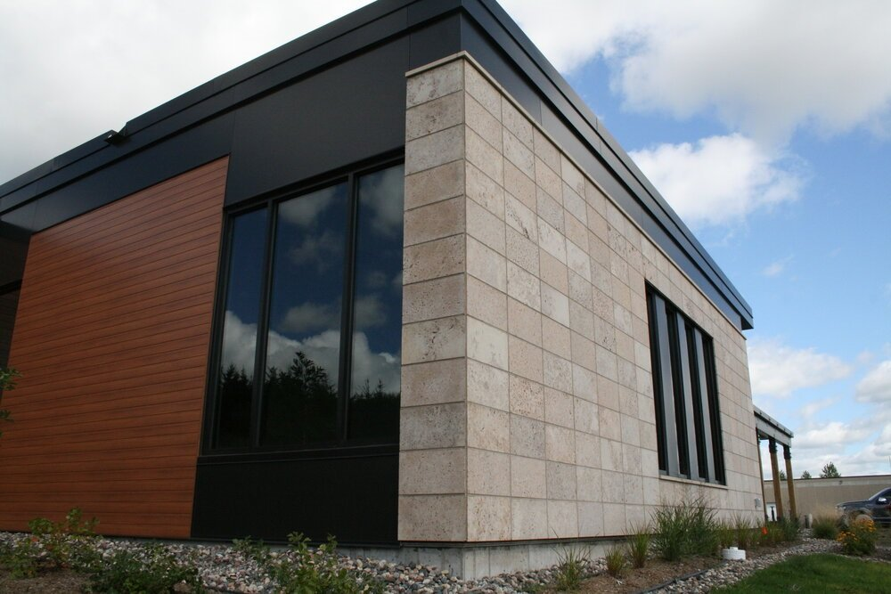 Manchester Natural Stone Veneer Commercial Architecture