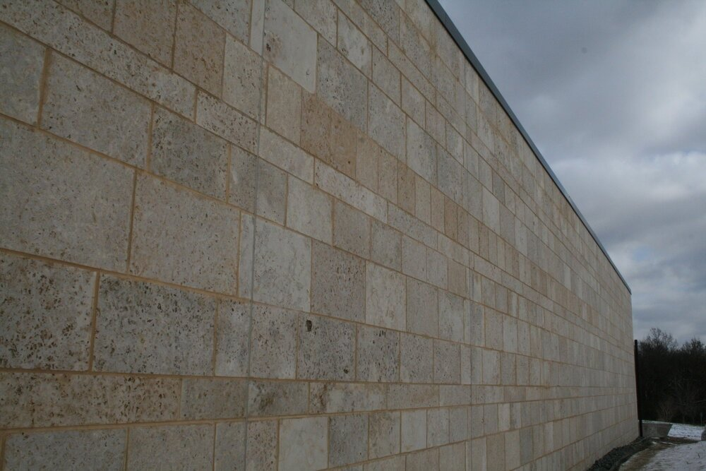 Manchester Real Stone Veneer Masonry