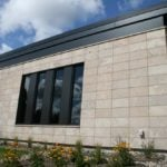 Manchester Thin Stone Veneer Commercial Masonry Close-Up