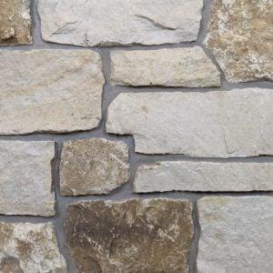 Mojave Real Thin Stone Veneer Mock-Up