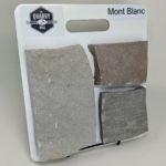 Mont Blanc Thin Stone Veneer Sample Board