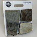 Quandary Peak Thin Stone Veneer Sample Board