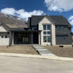 Roanoke Natural Thin Stone Veneer Home Exterior