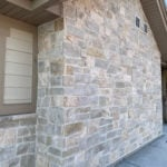 Roanoke Real Thin Stone Veneer Exterior Accent Wall