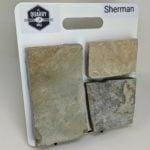 Sherman Thin Stone Veneer Sample Board