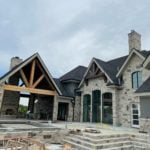 Graphite Real Thin Stone Veneer Home Exterior