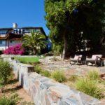 Bonavista Mosaic Natural Thin Stone Veneer Backyard Renovation