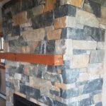 Danbury Natural Thin Stone Veneer Drystack Masonry