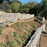 Bonavista Mosaic Stone Veneer Retaining Wall