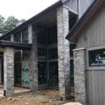 Atchison Custom Real Thin Stone Veneer with Tans