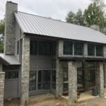 Atchison Real Thin Stone Veneer Custom Exterior with Tans