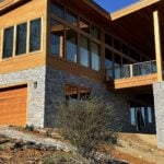 Augusta Natural Thin Stone Veneer Modern Exterior
