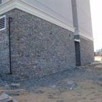 Augusta Real Thin Stone Veneer Installation in Progress