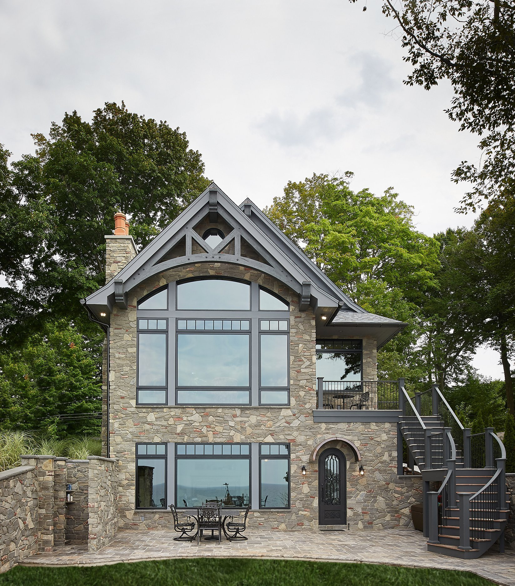 Brookhaven Fieldledge Natural Stone Veneer Exterior