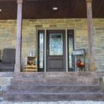 Castle Ridge and Baltic Hills Real Stone Veneer Custom Blend Front Porch