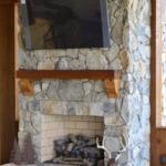 Cheyenne Natural Thin Stone Veneer Interior Fireplace