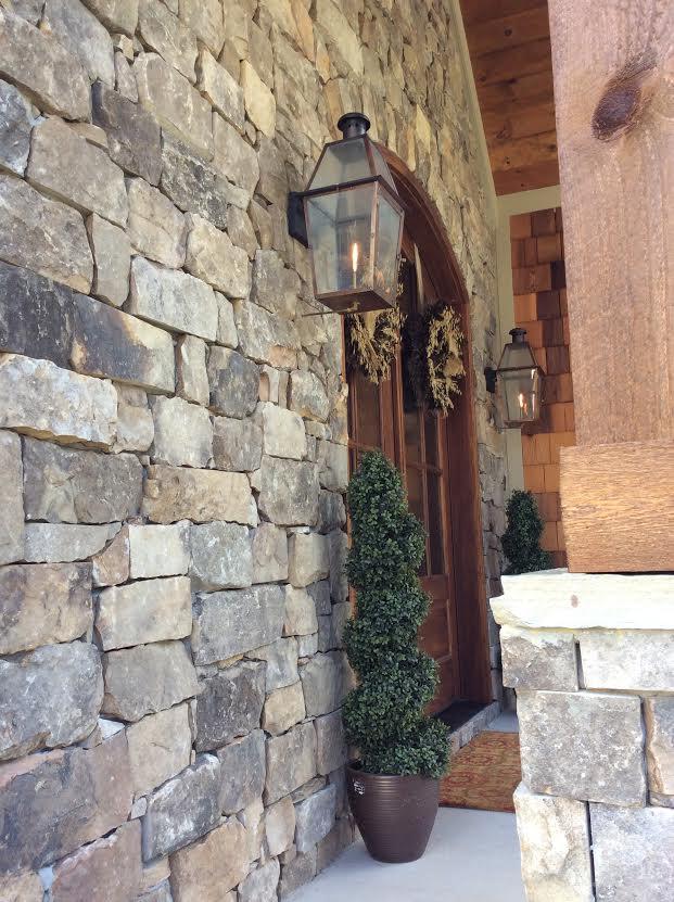 Dakota Ashlar Real Thin Stone Veneer Drystack Exterior