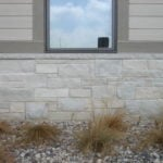 Empire Natural Stone Veneer Commercial Exterior Wainscoting