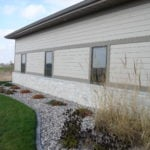 Empire Real Stone Veneer Commercial Exterior Wainscoting