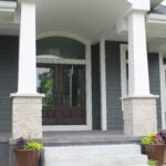 Fond du Lac Real Thin Stone Veneer Pillars