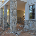 Foxborough Natural Thin Stone Veneer Exterior Installation