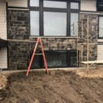 Galaxy Natural Stone Veneer with Wet Finish Sealer