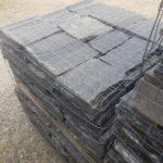 Midnight Shimmer Natural Stone Veneer Stock Pallet