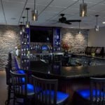 Moonlight Custom Ledgestone Natural Thin Veneer Commercial Interior