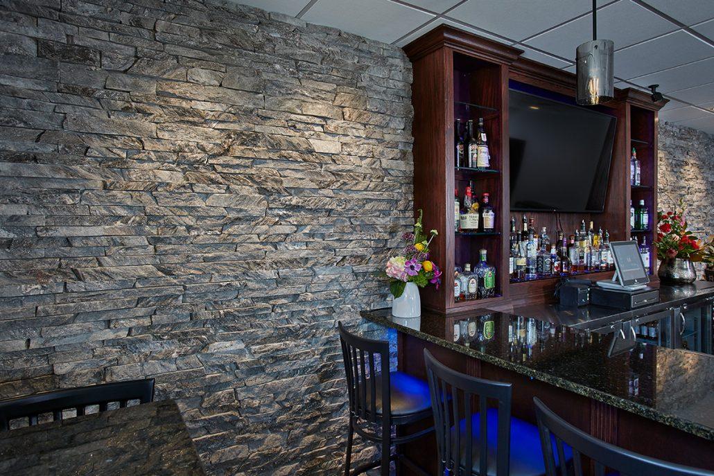 Moonlight Custom Small Height Ledgestone Thin Veneer Commercial Interior