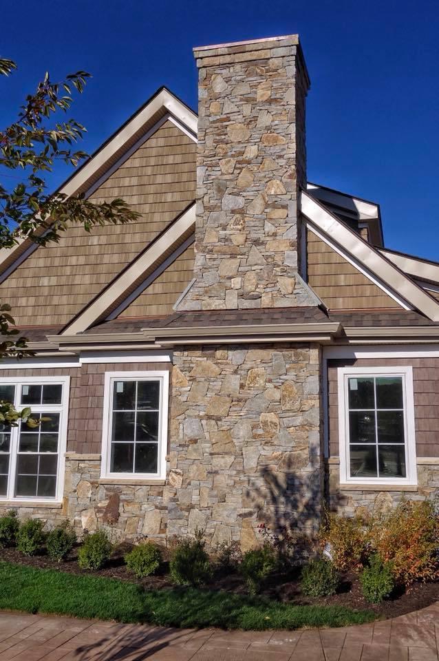 Portland Custom Ledgestone and Mosaic Blend Exterior