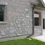 Promenade Tumbled Ashlar Style Real Stone Veneer Masonry