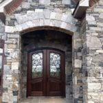 Richmond, Carlisle and Shadow Vista Custom Blend Real Stone Veneer Exterior