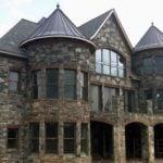 Richmond, Carlisle and Shadow Vista Natural Stone Veneer Custom Blend Exterior