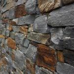 Ridgefield Natural Thin Stone Veneer Drystack Close-Up