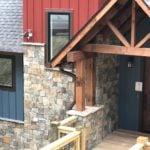 Rochester Ashlar Style Natural Thin Stone Veneer Home Exterior
