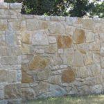 Rustic Bay Fieldledge Real Thin Stone Veneer Privacy Wall