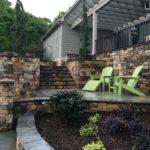 Saguaro Ashlar Style Real Thin Stone Veneer Outdoor Living Patio