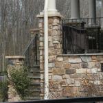 Tantallon Fieldledge Natural Thin Stone Veneer Front Porch