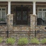 Tantallon Fieldledge Style Real Thin Stone Veneer Front Porch