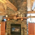 Torrington and Kenai Real Thin Stone Veneer Custom Blend Interior Fireplace