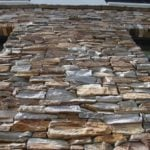 Tucson Natural Thin Stone Veneer Drystack Exterior