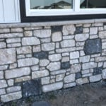 Twilight Natural Stone Veneer Wainscoting