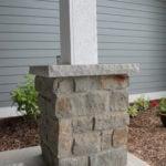 Vineyard and Baltic Hills Natural Stone Veneer Pillar
