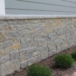 Vineyard and Baltic Hills Real Stone Veneer Wainscoting